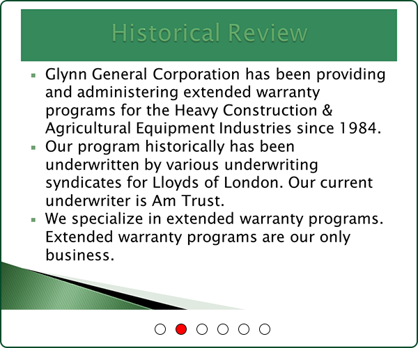 Glyyn General Corporation - Program Overview slide 2